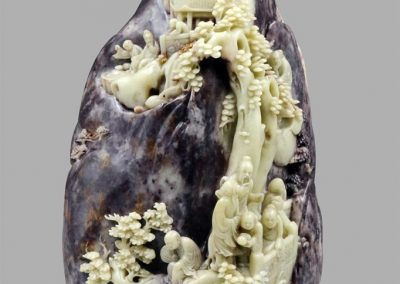 A Superbly Carved Shoushan Rock