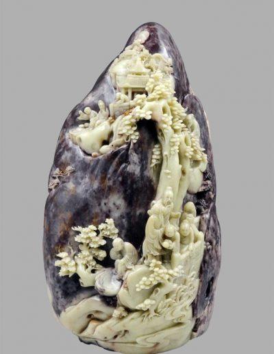 A Superbly Carved Shoushan Rock