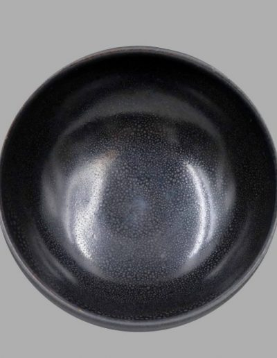 A fine and rare 'oil spot' black-glazed bowl