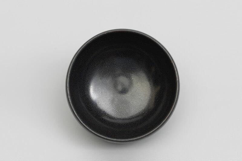 A fine and rare 'oil spot' black-glazed bowl