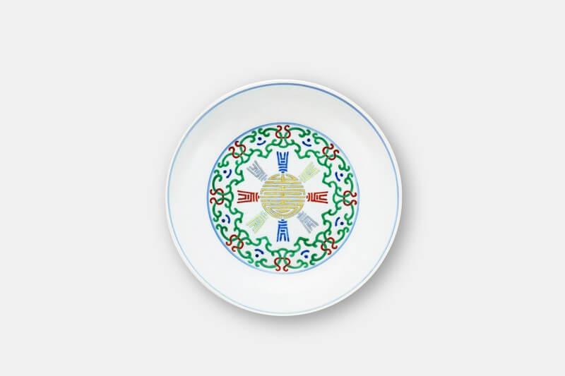 A fine and rare doucai saucer dish