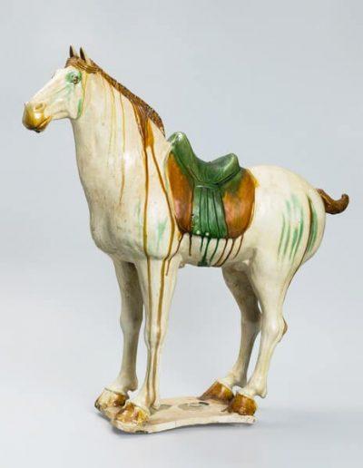 唐  三彩馬